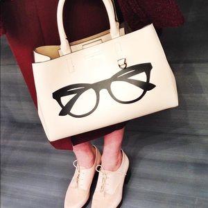 Banana Republic Mini Larkin eyeglasses tote bag